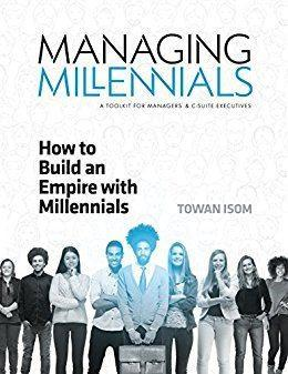 Managing millenials book cover